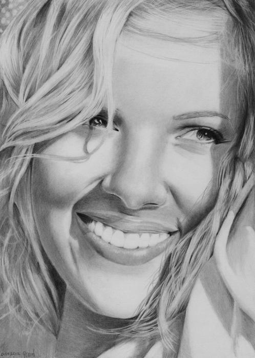 Scarlett Johansson by Vikusik